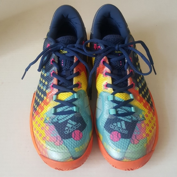 info for 6092e a7889 adidas Other - Adidas Barricade 2017 Pop Art Shoes. Size 9